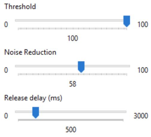 برنامج تصفية صوت الميكروفون