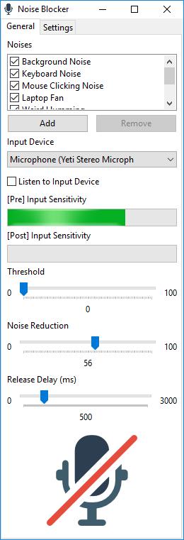 Noise Blocker 0.9.6 full