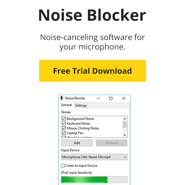Noise Gate App (Free Trial Download) | Noise Blocker